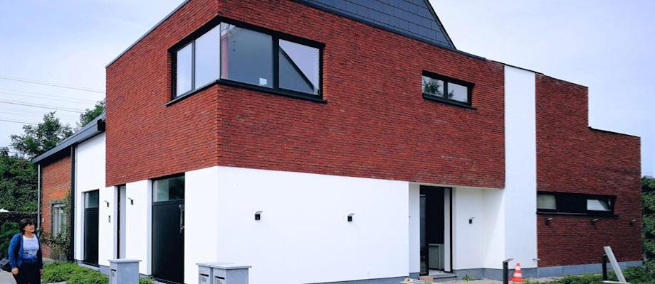 Van welden partners architecten for Kostprijs huis bouwen zonder grond